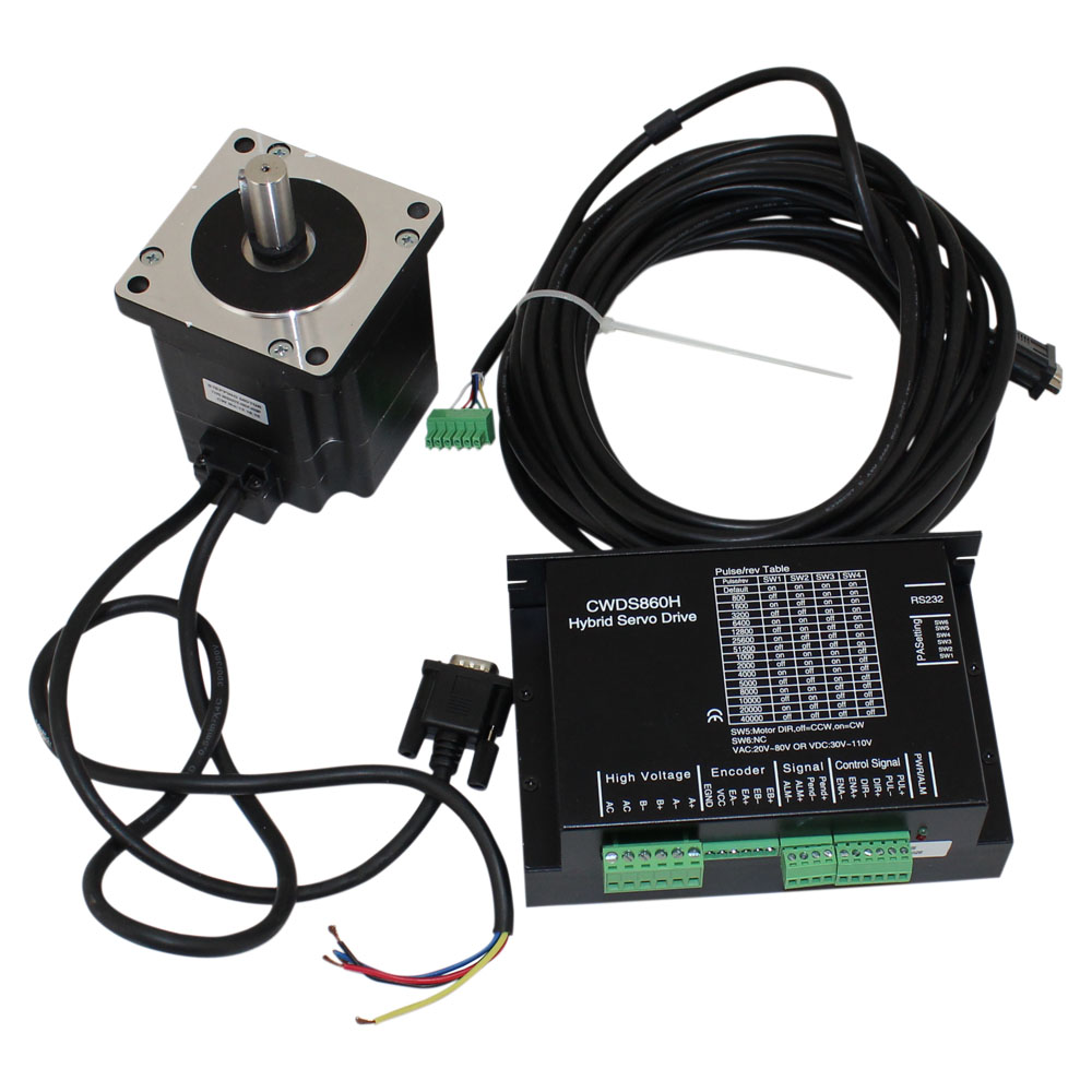 Advantages of a closed loop stepper motor system simply for Stepper motor control system