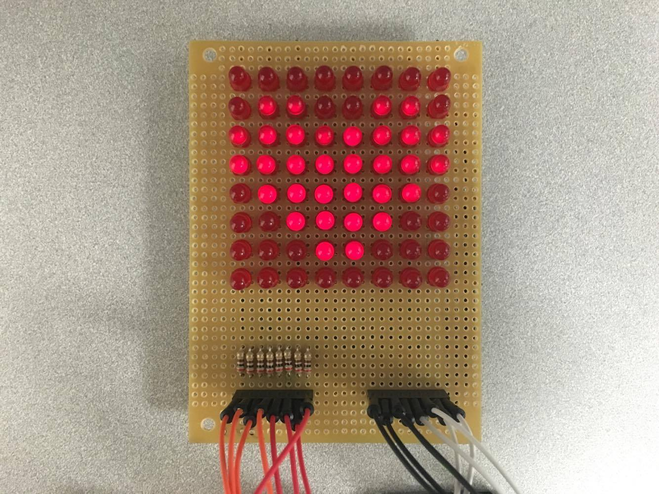 Led matrix beating heart tutorial simply smarter