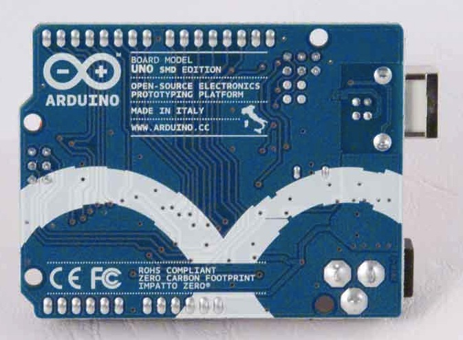 Arduino UNO SMD Back - Source: Arduino.cc