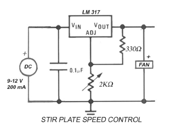 Stir Starter Schematic - Circuit Specialists Blog