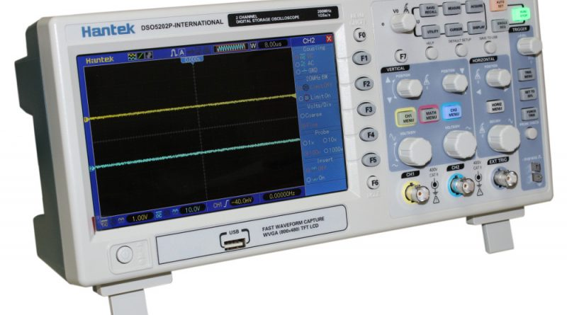 Hantek DSO5202P Digital Storage Oscilloscope - Circuit Specialists Blog