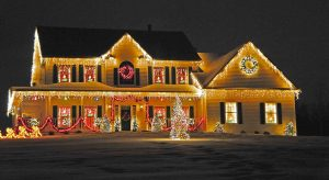 ac power meter holiday lights