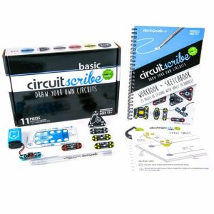 Workbook plus Kit - best electronics kits for adults