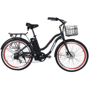X-TREME MALIBU ELITE 24V ELECTRIC BEACH CRUISER BIKE