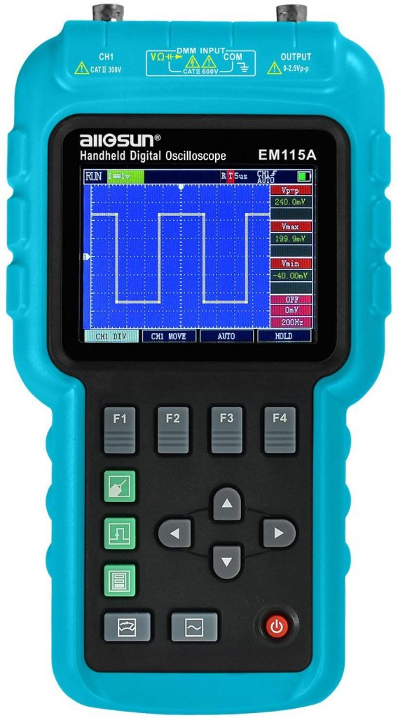 The All-Sun 3-in-1 Best Portable and Handheld Oscilloscopes