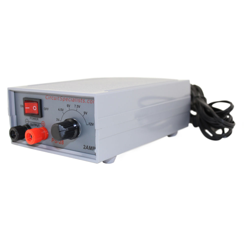 2 Amp Multi Output Power Supply For We Can Use Batteries Or 6v Regulated