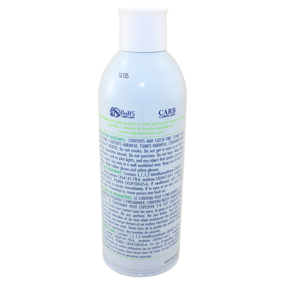 Clear acrylic lacquer conformal coating - 12 oz. aerosol
