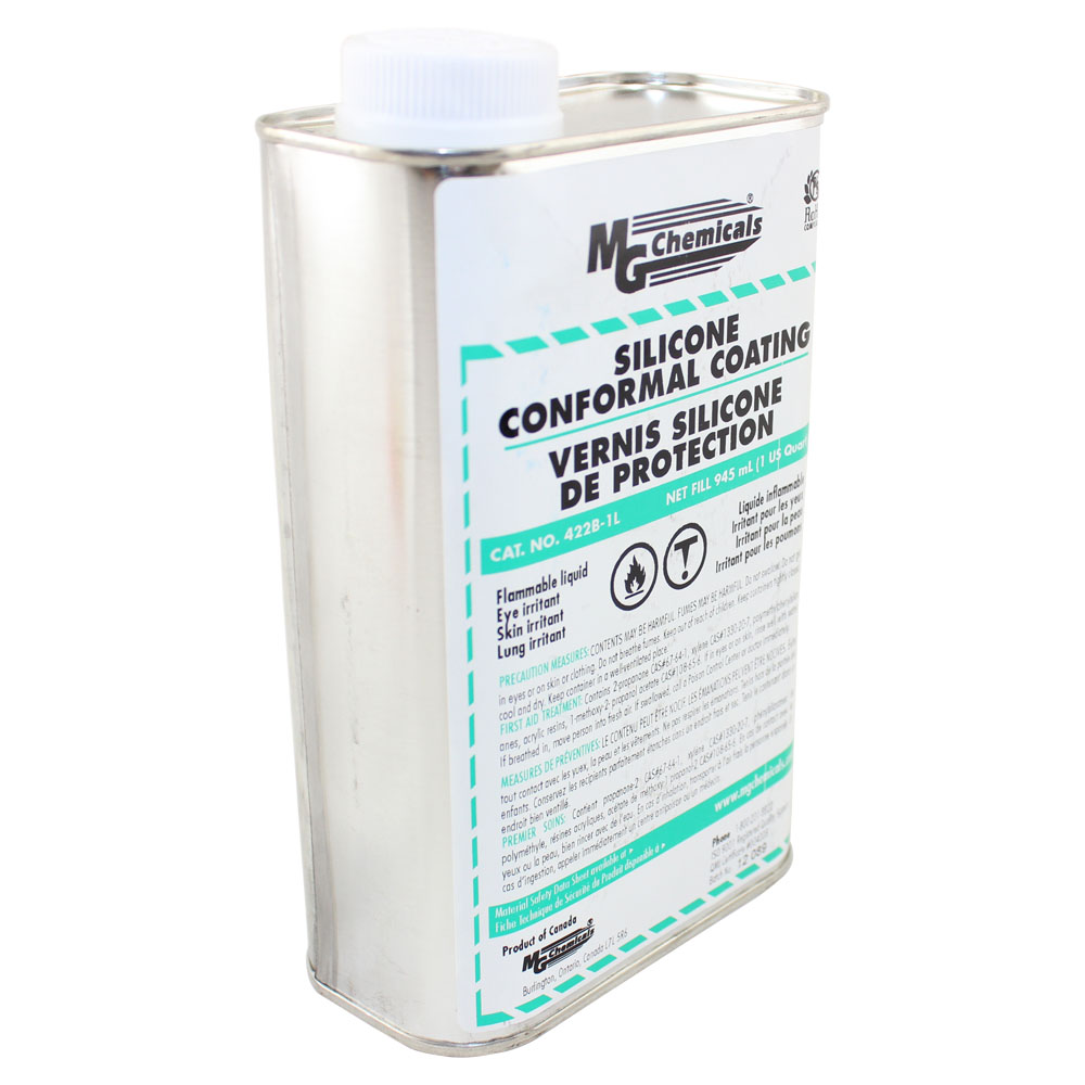 Pure Silicone Conformal Coating - 1 liter