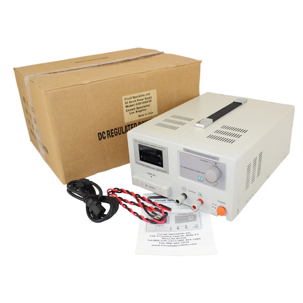 120 Volt Adjustable Linear Dc Power Supply 0 30 Amps Smps Schmatic Using Ic2003 The Cheap Chinese Uses A Circuit Amp Bench