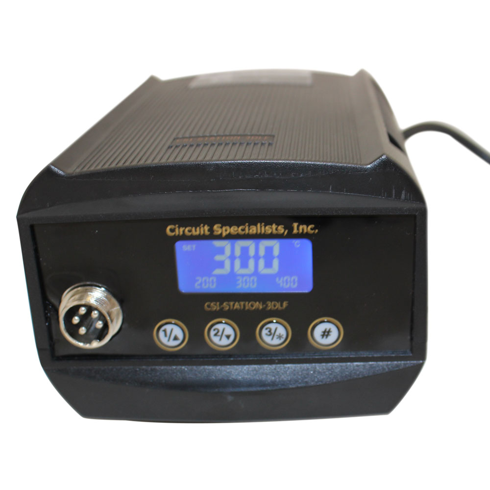 CSI Deluxe 60W Solder Station with Digital Display