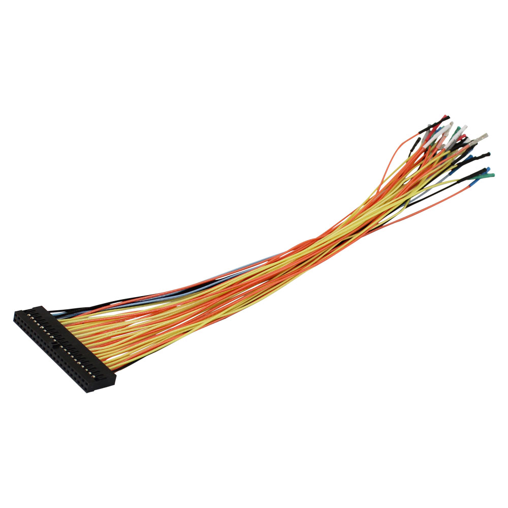 EXTRA 34 WIRE CABLE WITH CONNE