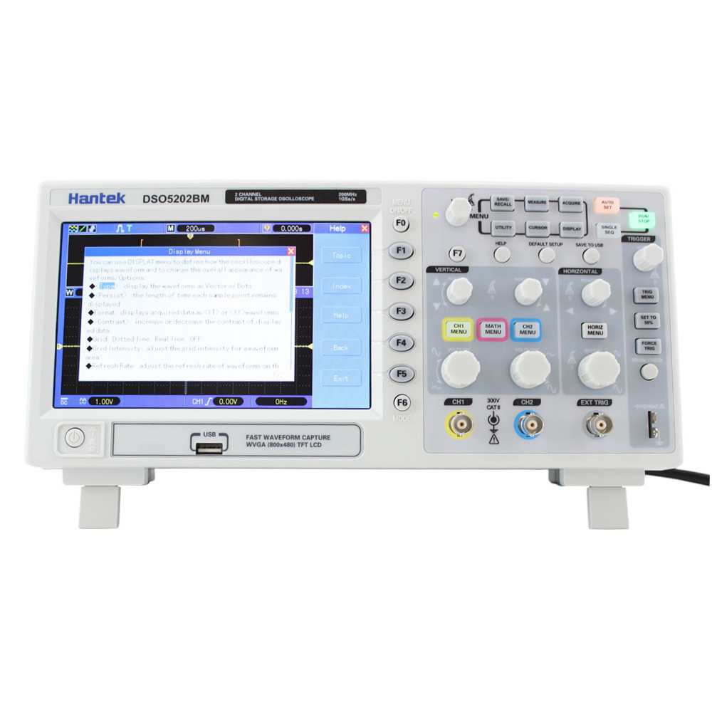 Digital Storage Oscilloscope : Hantek dso bm mhz digital storage oscilloscope