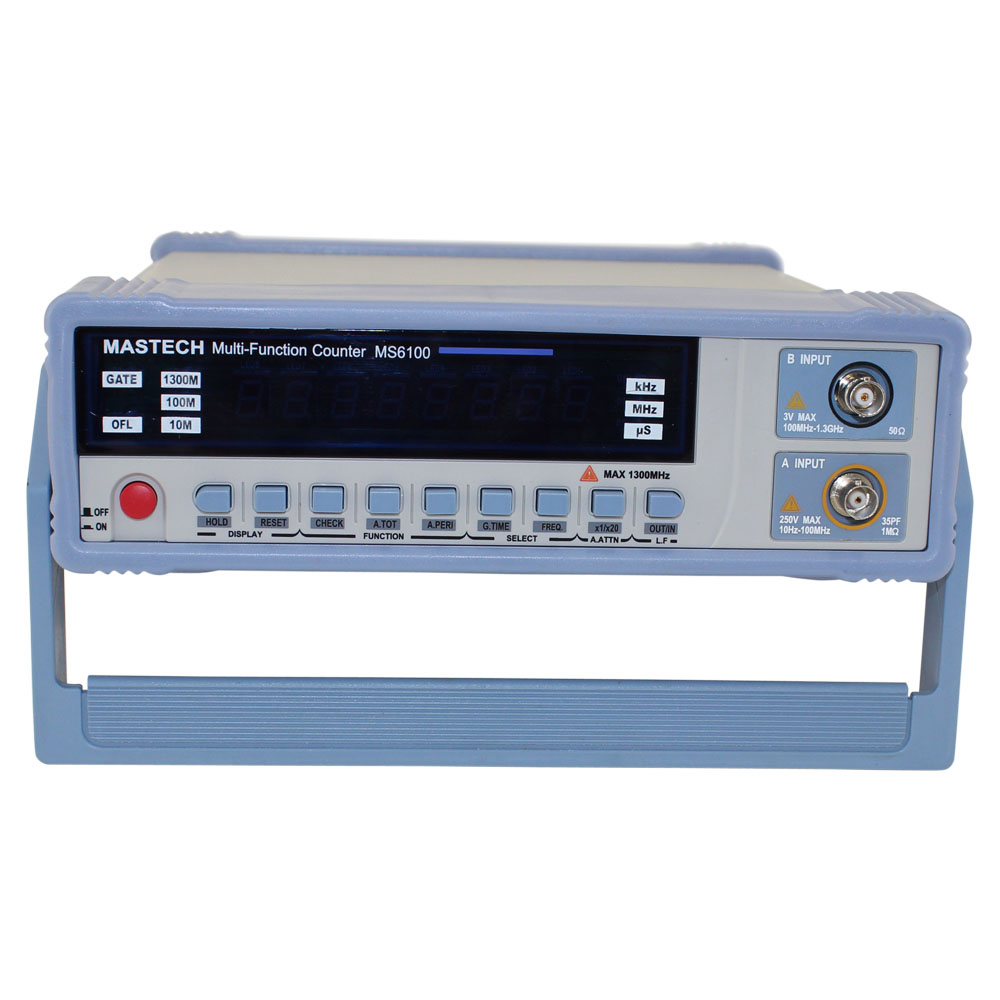 10Hz to 1.3GHz Intelligent Multi-Function Digital Frequency Counter