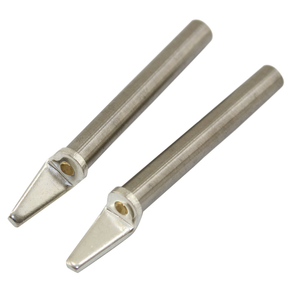 REPLACEMENT TWEEZER TIP SET - FLAT