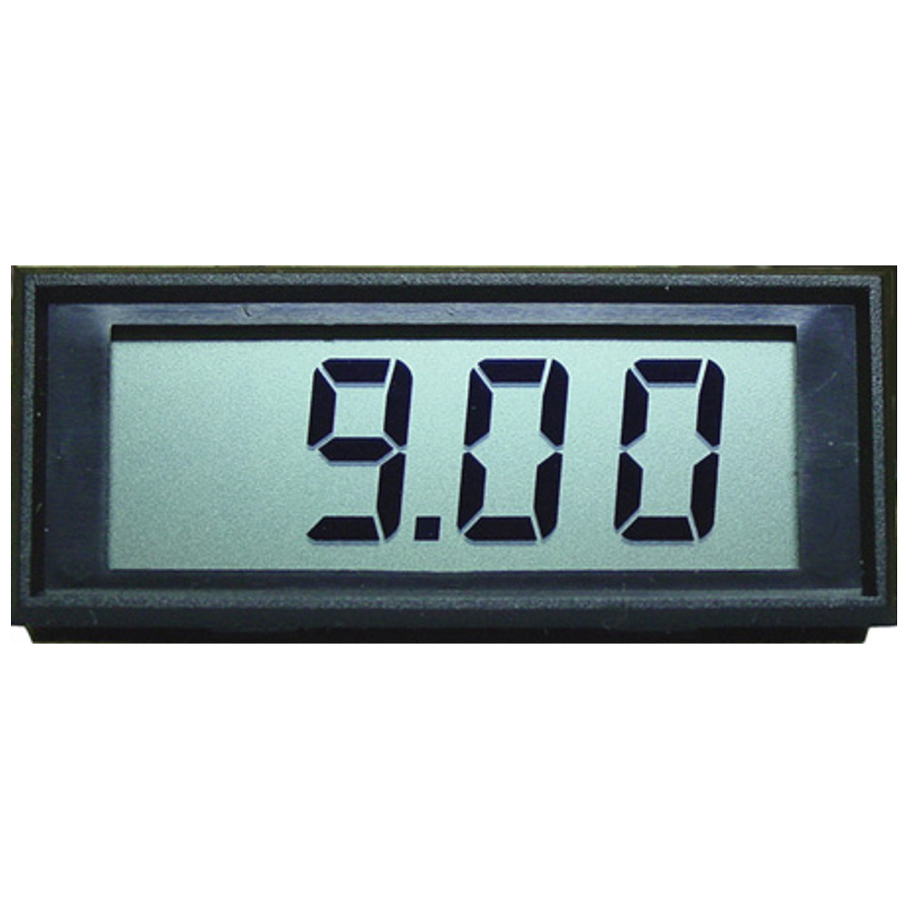 Miniature LCD Panel Meter - 9V Independent