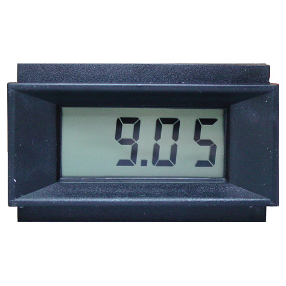 3-1/2 Digit LCD Panel Meter - Enhanced Common Ground