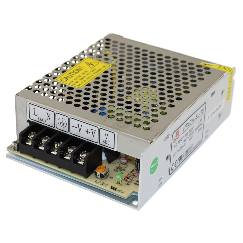 15 VOLT 2.8 AMP SWITCHING POWER SUPPLY