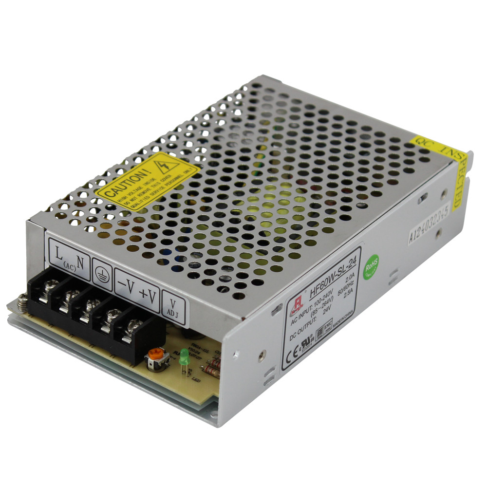 _60W 24V 2.5A SING OUTPUT PS (