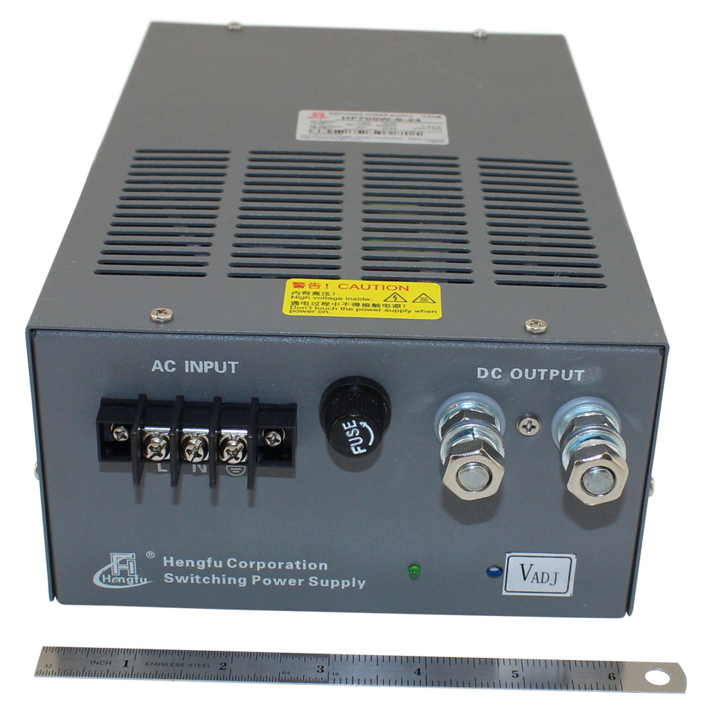 24 Volt Power Supply - 30 Amp Single Output