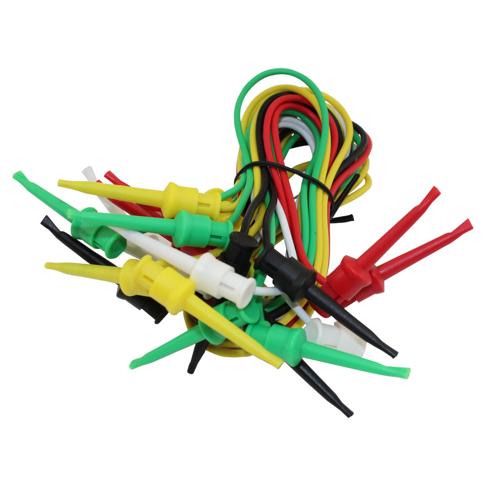 TEST LEADS/LARGE MINI GRABBERS