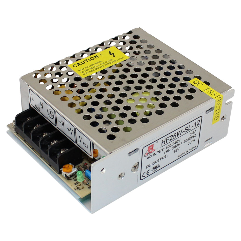 25W 12V 2.1 A UL APPROVED POWER SUPPLY