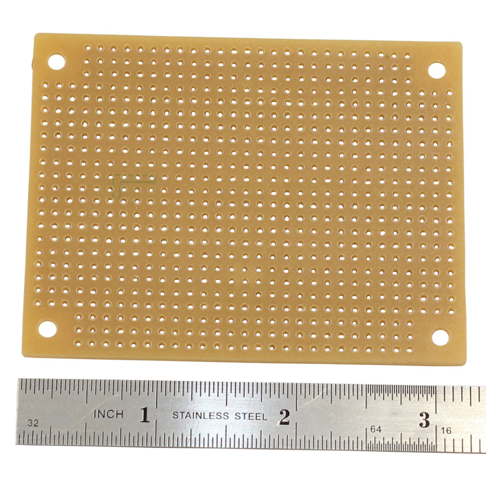 Solderable Perf Board, 2-1/2 x 3-1/8