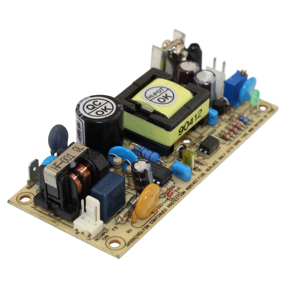 24 Volt Power Supply - 0.65 Amp Single Output - Open Frame
