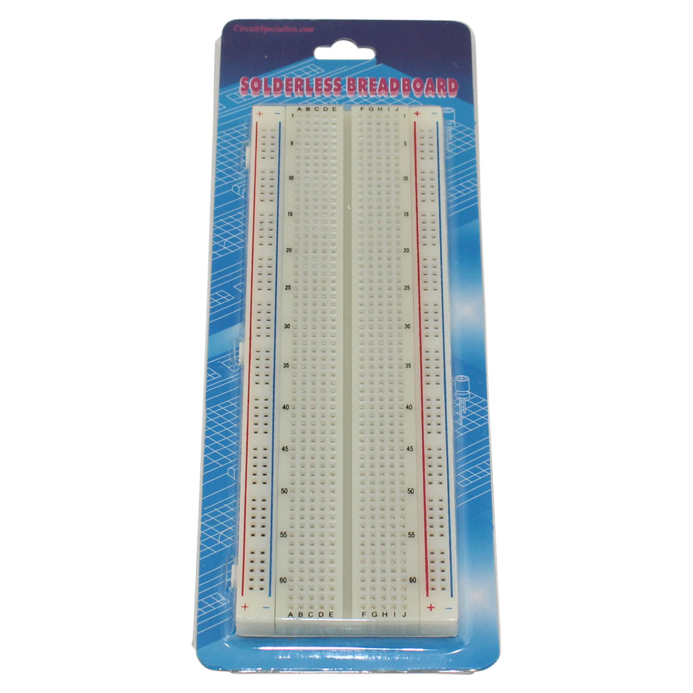 WB-102 Solderless Breadboard (no jumpers included)