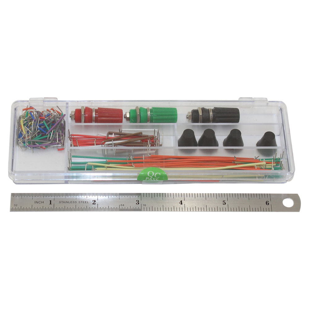 WB-104-1+J Solderless Breadboard with Jumpers