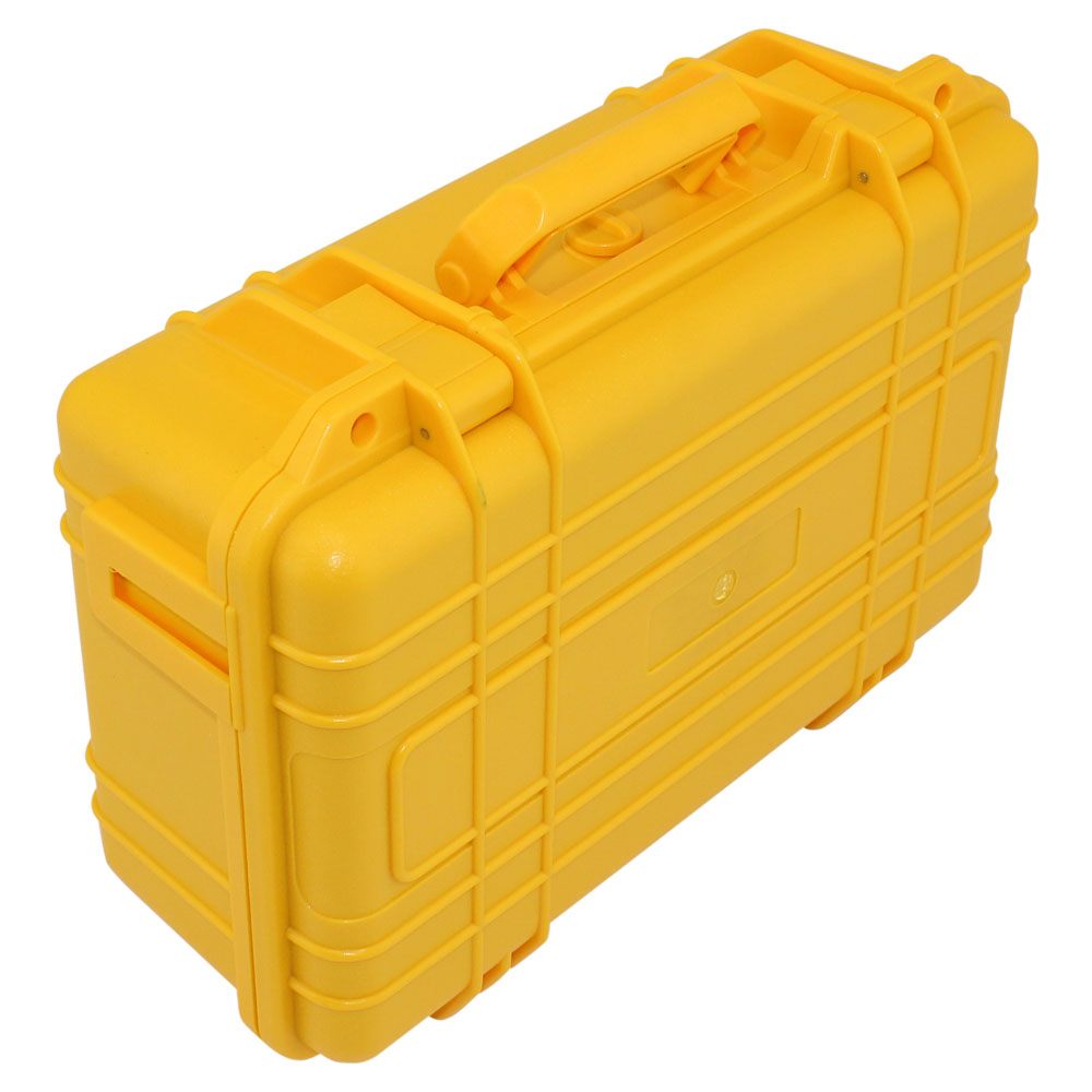 PLASTIC EQUIPMENT CASE W FOAM