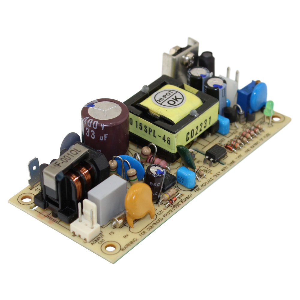 15 WATT OPEN FRAM 48V POWER SU