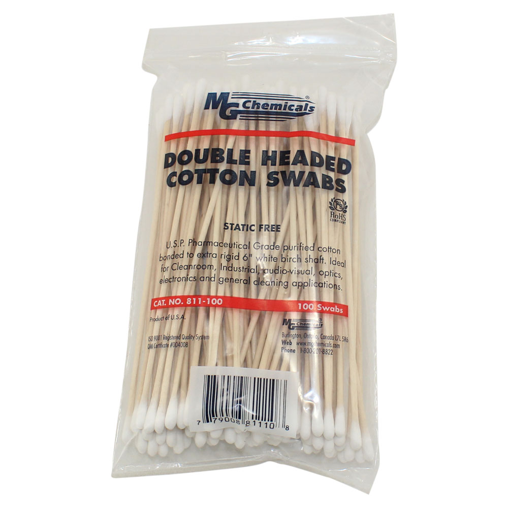 Double Headed Cotton Swab - 100 Per Package