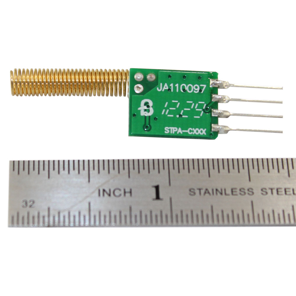 418MHz RF transmitter module with antenna
