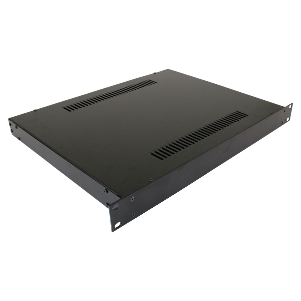 Rack Mount Enclosures : New u rackmount enclosure et b electronic enclosures