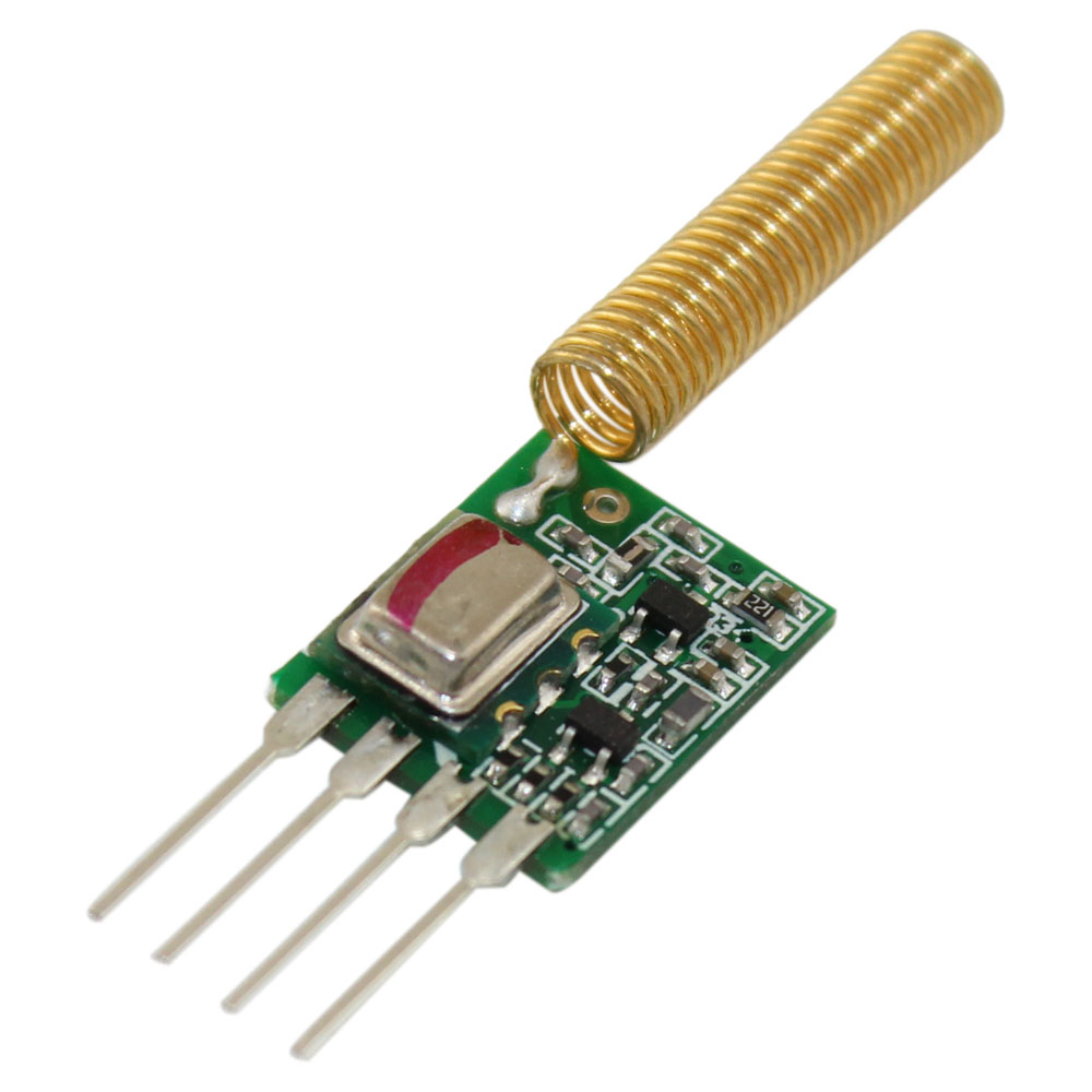 Rf Transmitters Transmitter Module With Antenna Ultrasonic Receiver Circuits Free Electronic 418mhz