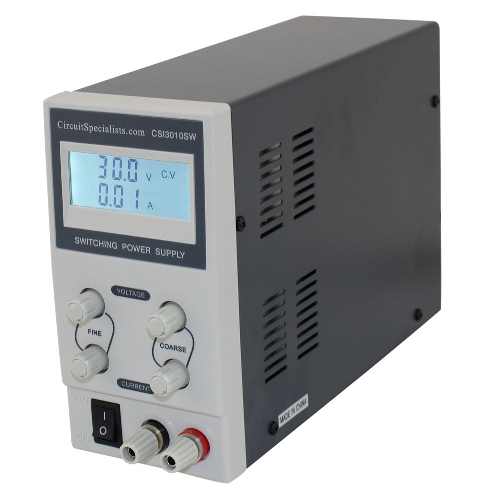 Low cost bench power supply