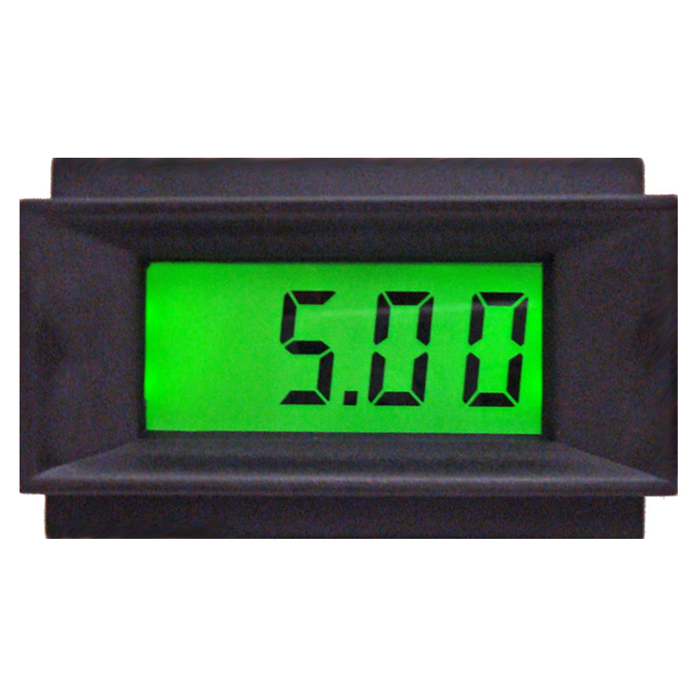 Lcd Panel Meter : New backlit lcd panel meter pm e digital