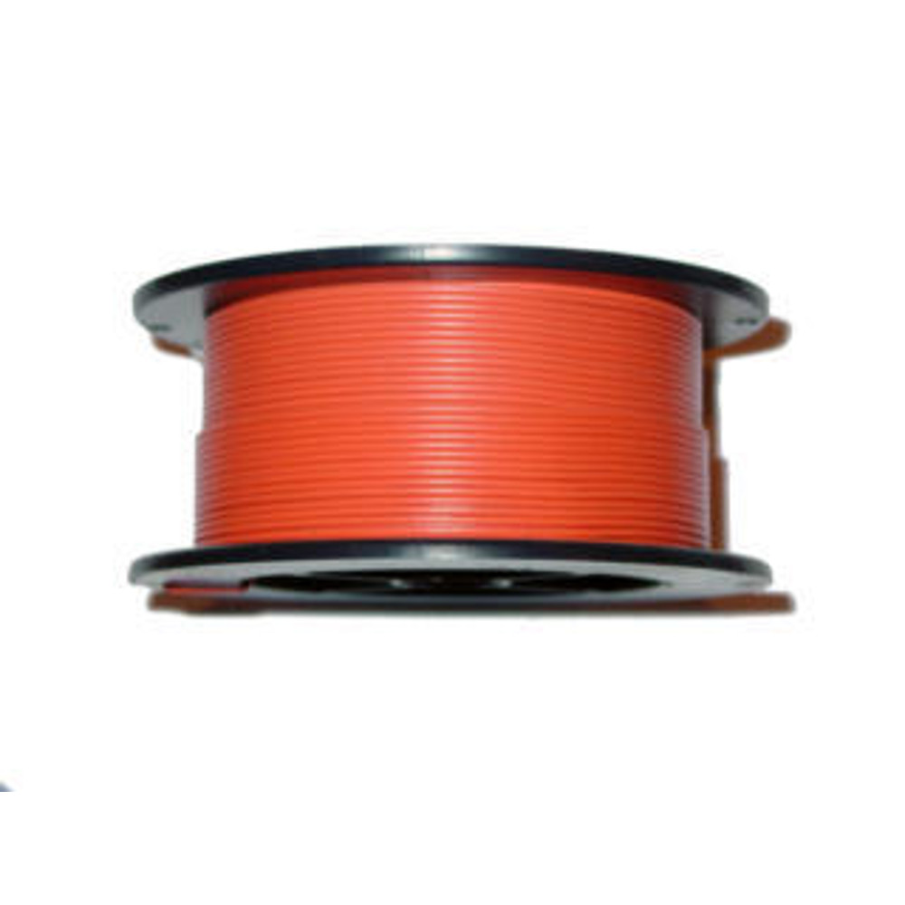 22AWG 100FT SOLID ORANGE
