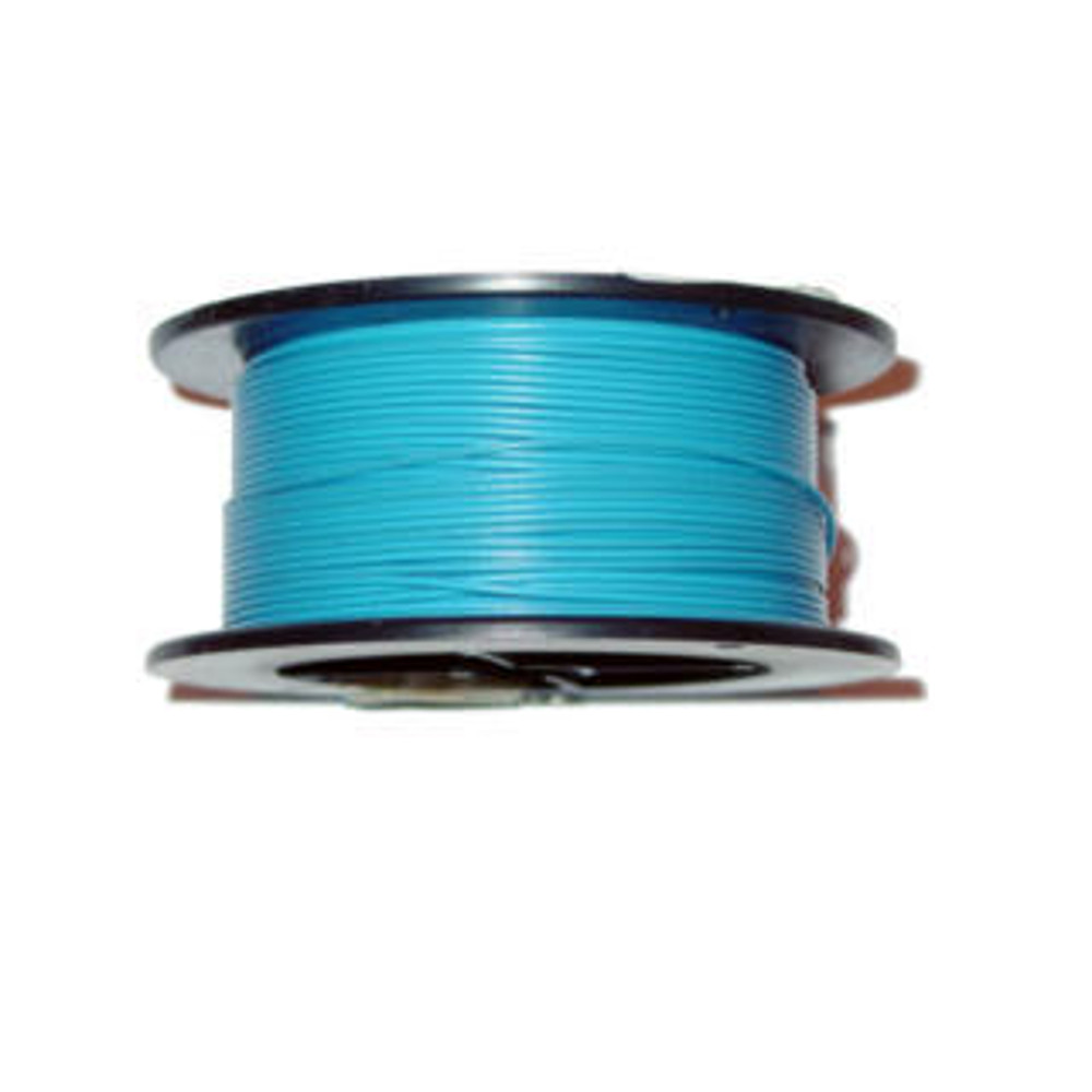 22AWG 100' Solid Blue Wire