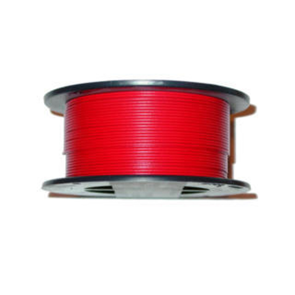22AWG 1000FT SOLID RED