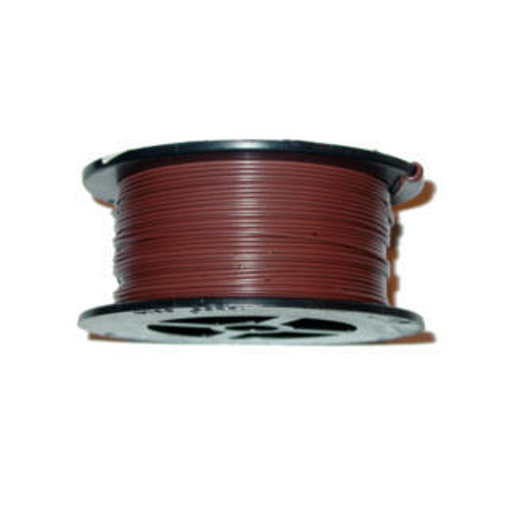 22AWG 100FT STRANDED BROWN