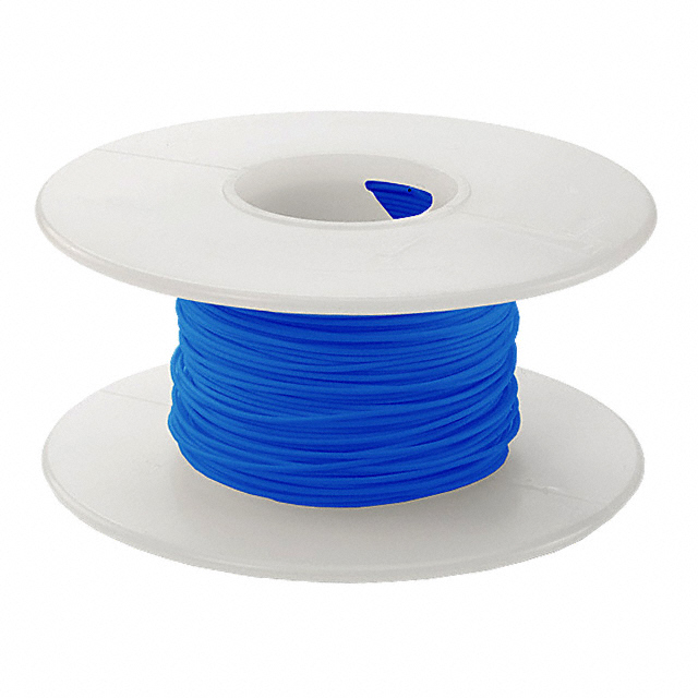 100' 30 AWG Wire Wrapping Wire - Blue
