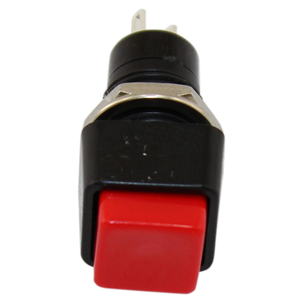 RoHS Compliant Pushbutton Switch OFF-ON Red