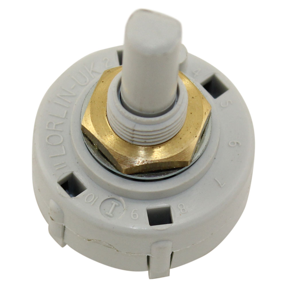 3POL 2-4POS ROTARY SWITCH