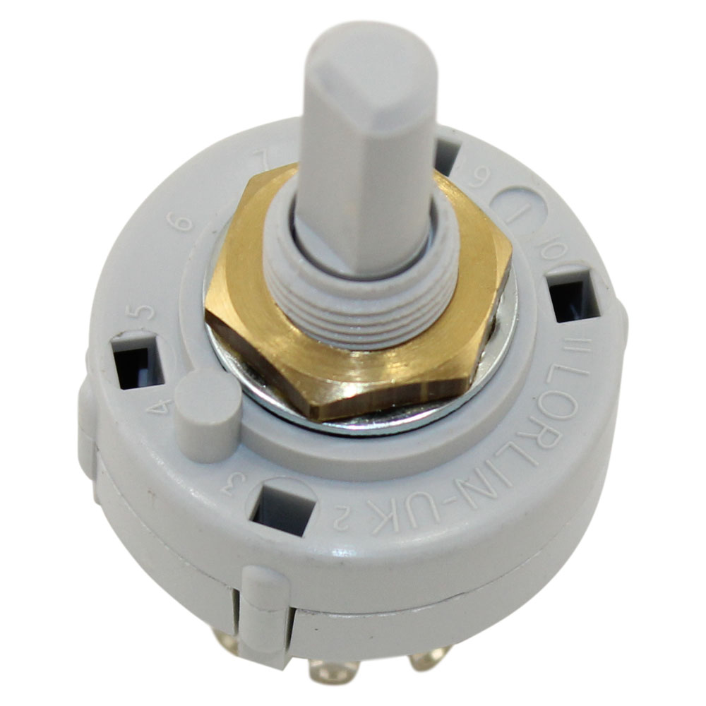 1POL 2-12POS ROTARY SWITCH