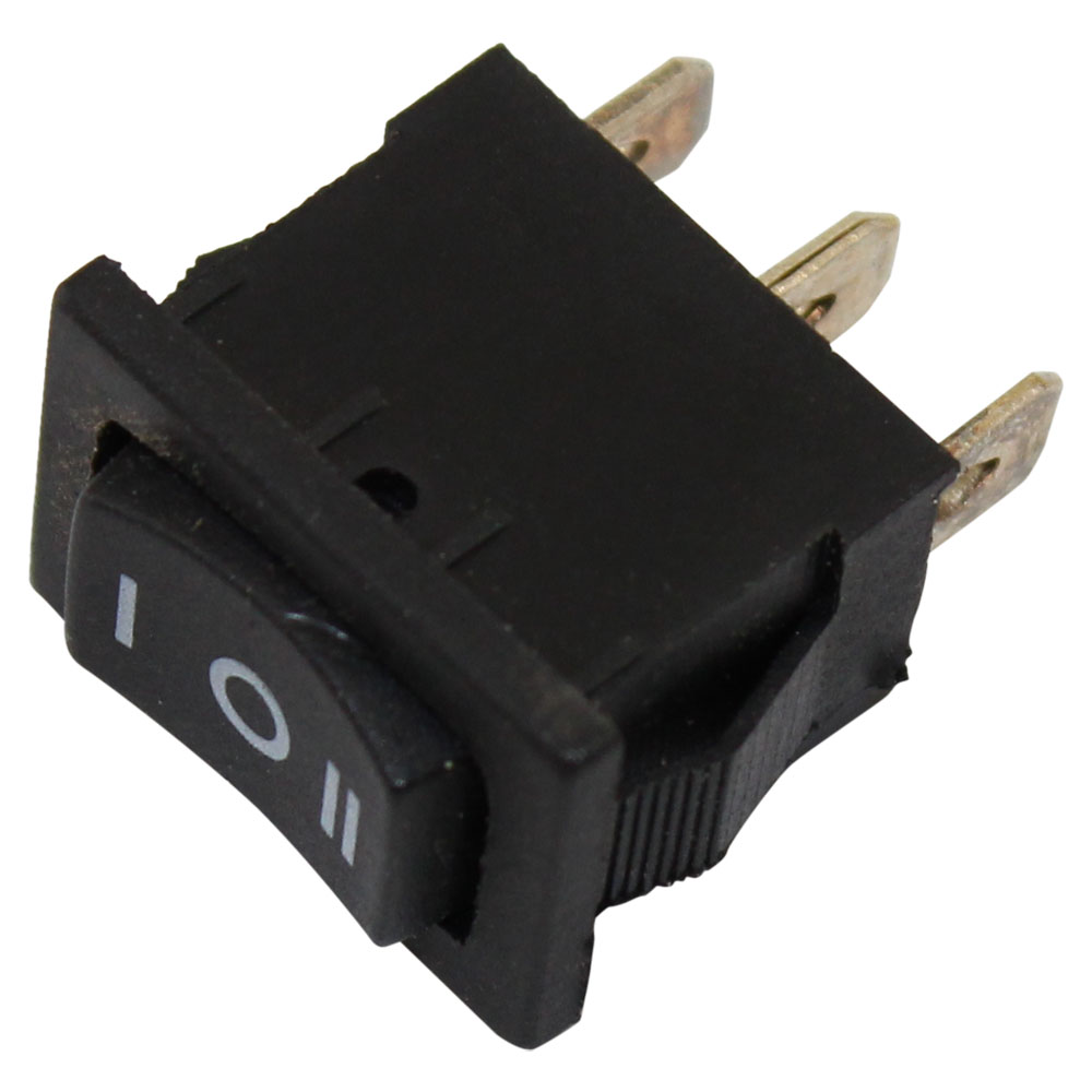 ROCKER SWITCH, (ON)-OFF-(ON),
