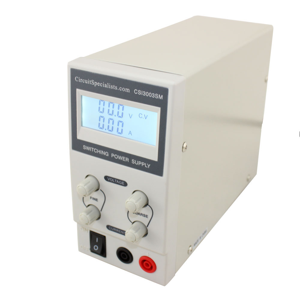 0 30v 0 3a Switch Mode Bench Power Supply With Digital Display