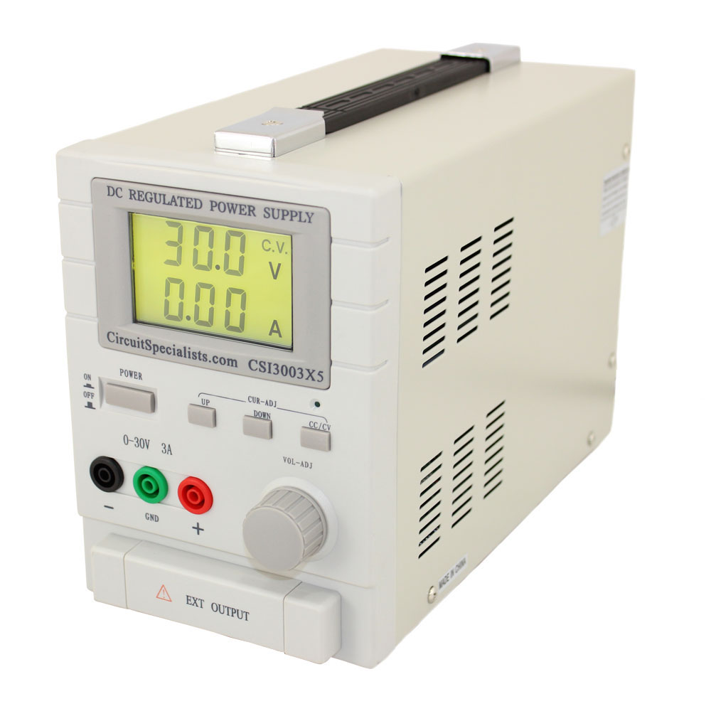BENCH POWER SUPPLY 0-30V, 0-3 AMPS