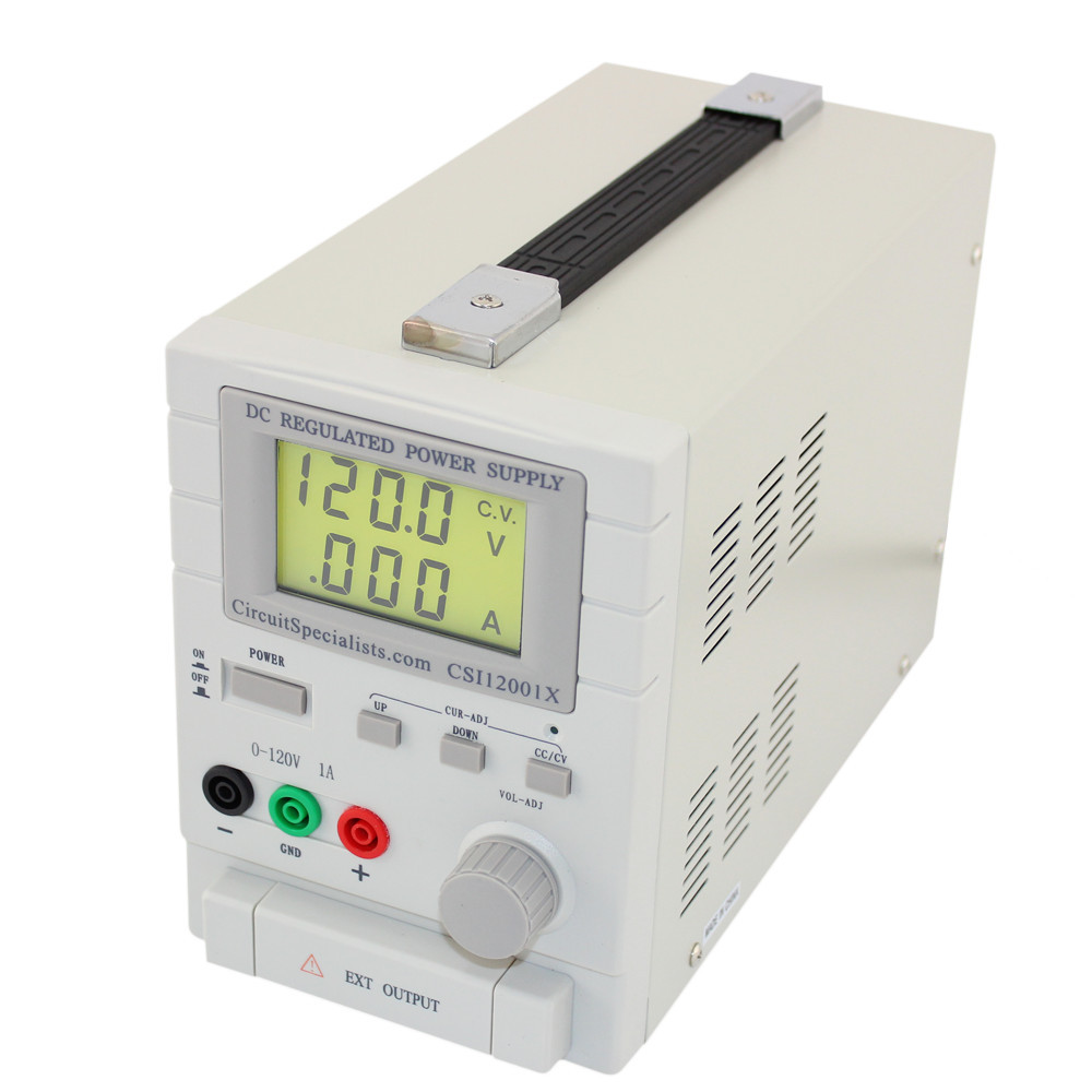 120 volt single output linear dc power supply 1 0 amp