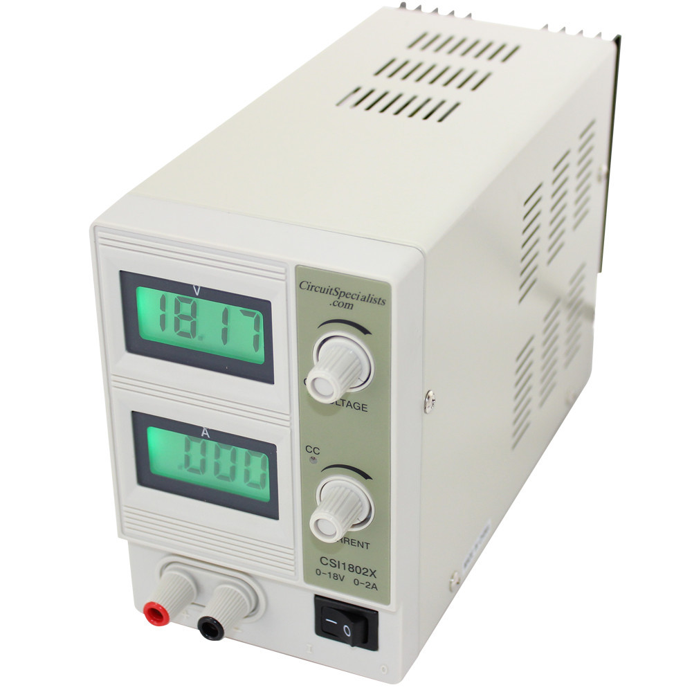 0-18V 0-2A DIGITAL DISPLAY BENCH POWER SUPPLY